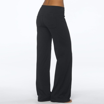 Prana Womens Julia Pant Regular Inseam Black
