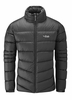 Rab Mens Cirque Jacket Black/ Zinc XL