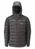 Rab Mens Electron Jacket Graphene/ Zinc Large