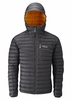 Rab Mens Microlight Alpine Jacket Beluga/ Squash