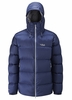 Rab Mens Neutrino Endurance Jacket Twilight/ Zinc