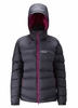 Rab Womens Ascent Jacket Beluga/ Peony