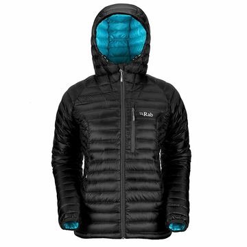 Rab Womens Microlight Alpine Jacket Black (Autumn 2013)