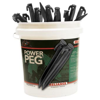 "Reliance Bucket of Pegs 6"" 360PCS"