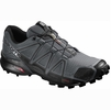 Salomon Mens Speedcross 4 Dark Cloud/ Black