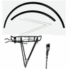 Scott Fender City Kit 700 C Black with Kickstand and Carrier