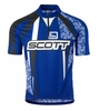 Scott Mens Authentic Short Sleeve Black/ Royal Blue