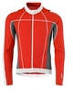 Scott Mens Helium Top Long Sleeve Red
