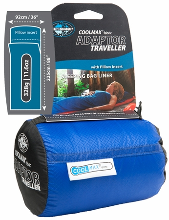 Sea to Summit Adaptor Traveller Coolmax Liner