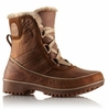 Sorel Womens Tivoli II Premium Leather Boot Autumn Bronze