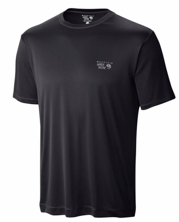 Mountain Hardwear Mens Wicked Jersey Short Sleeve T Black