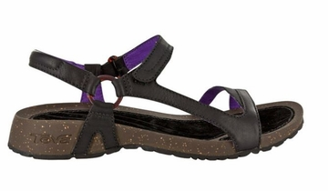 Teva Womens Cabrillo Universal Leather Black/ Purple