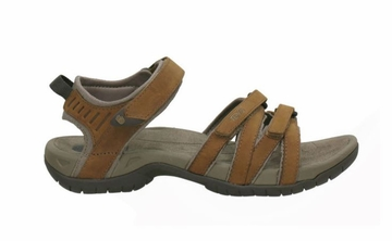 Teva Womens Tirra Leather Rust