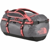 The North Face Base Camp Duffel M Zinc Grey/ Tropical Coral