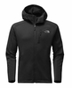 The North Face Mens Tenacious Hybrid Hoodie TNF Black