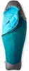 The North Face Womens Cats Meow Sleeping Bag Long Blue Coral/ Zinc Grey