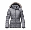 The North Face Womens Gotham Jacket Medium Grey Heather (Close Out)