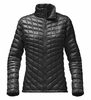 The North Face Womens Thermoball Full Zip Jacket TNF Black (Close Out)