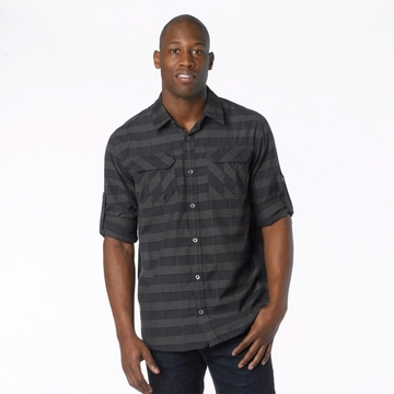 Prana Mens Terrain Shirt Coal