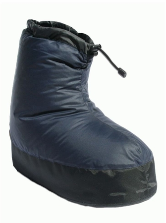 Western Mountaineering Down Bootie Navy
