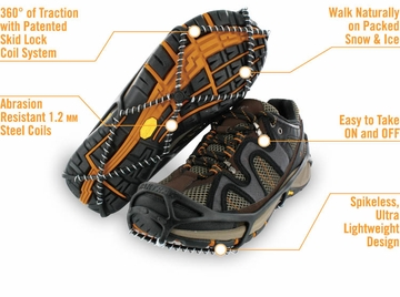 Yaktrax Walker Black