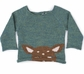 Oeuf Peeking Bambi Sweater