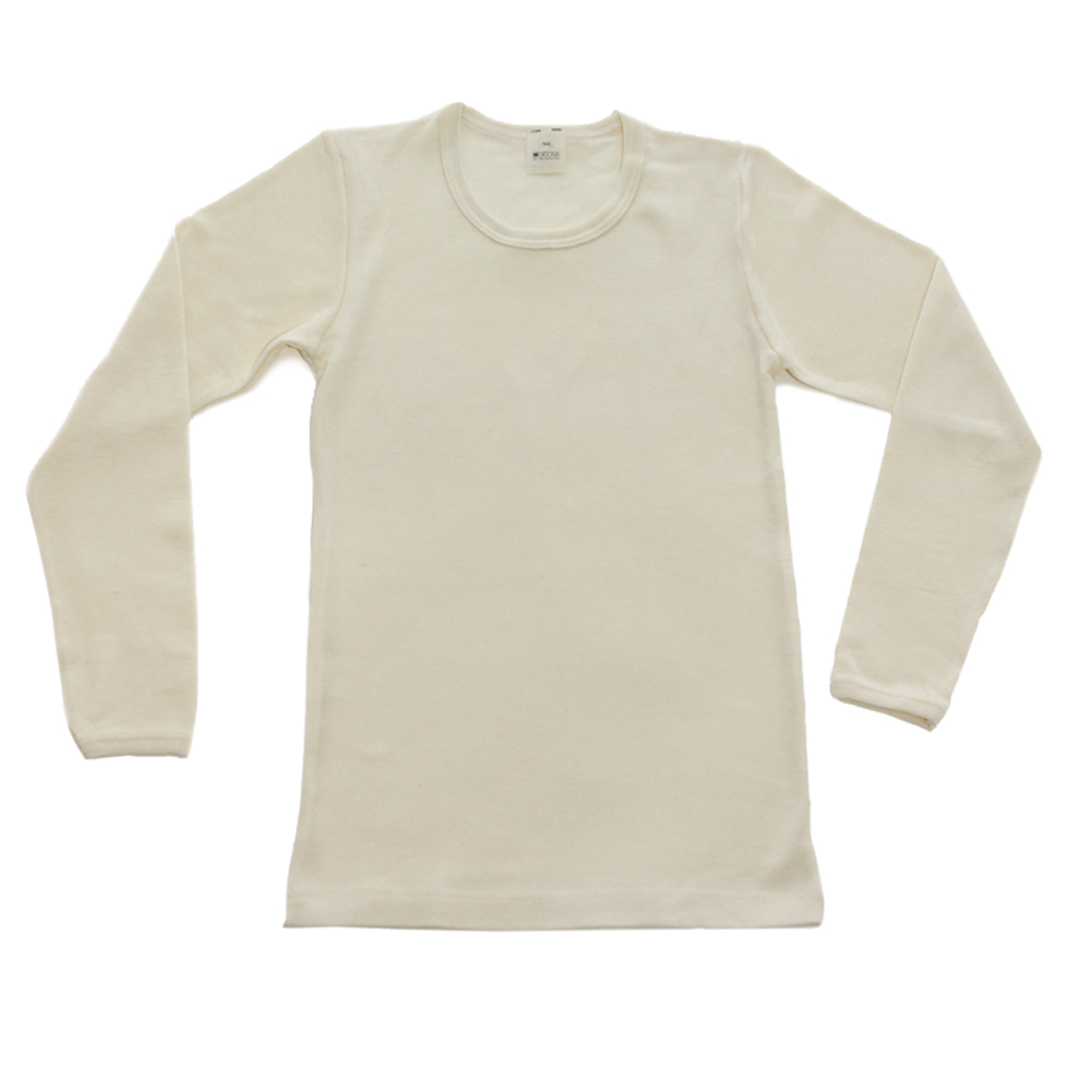 Organic Wool Long Underwear for Children, Kids and Toddlers - with ...