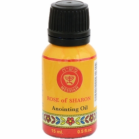 15ml Holy Land Anointing Oil - Rose of Sharon
