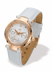 3178-5 - white - Trendy young Watch