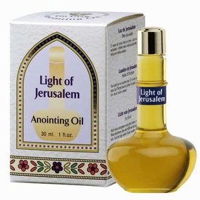 Bible Gift - Anointing Olive Oil from Jerusalem