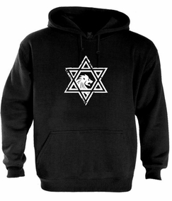 Casual Star of David Hoodie