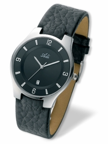 Classic elegant gent's watch - 2550 - black