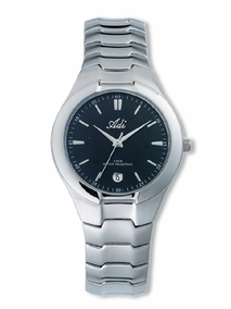 Classic gent's sports watch - black -798a