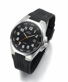 Classic sporty stainless steel men's watch - 3067