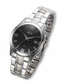 Classic stainless steel gent's watch - 2929b