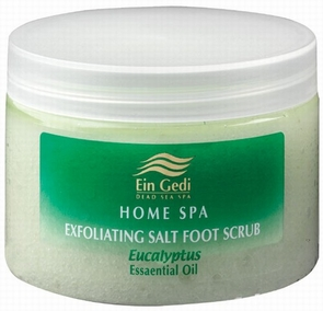 Dead Sea Eucalyptus Salt Body Scrub