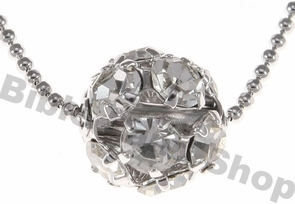 Diamond Ball Necklace