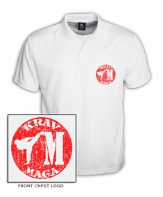 Dry-Fit Krav Maga Training Polo Shirt