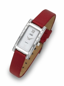 Elegant and youthful ladies watch - 3201- Red