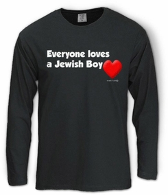 Everyone Loves a Jewish Boy Long Sleeve T-Shirt