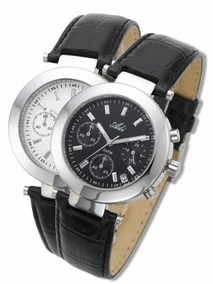 Exclusive stainless steel unisex watch - 2625