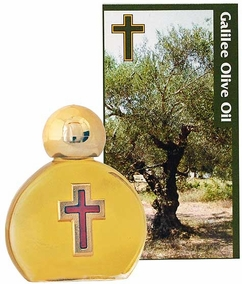 Galilee Olive Oil with Cross