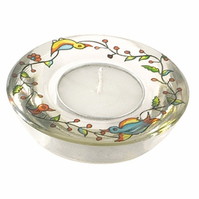 Glass Candle Holder CAT# GL- 6
