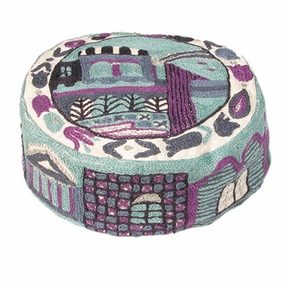 Hand Embroidered Hat ( HAE-3) CAT# HAE-3