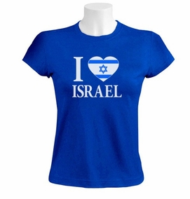 I love Israel women's T-Shirt