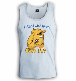 I stand With Israel, Got it? Singlet