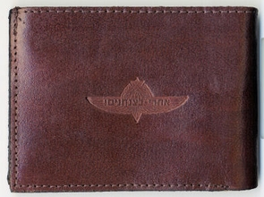 IDF Paratroopers Leather Wallet