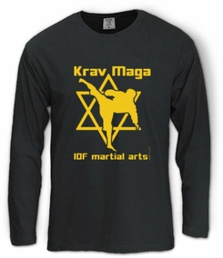 IDF martial arts Long Sleeve T-Shirt