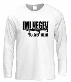 IMI Negev Long Sleeve T-Shirt