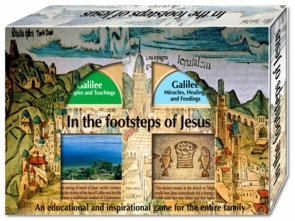 In the Footstep of Jesus - Four 4 of kind Cards